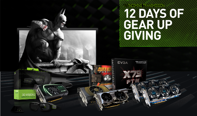 Enter Our 12 Days Of Gear Up Giving Sweepstakes For A Chance To Win