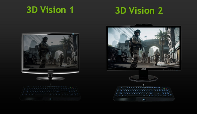 3D Vision 1 vs. 3D Vision 2