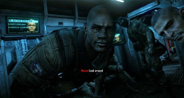 Taken from the opening segment of the game, these are the first faces you'll see in Crysis 2.