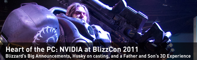 Blizzcon 2011 Day One Recap