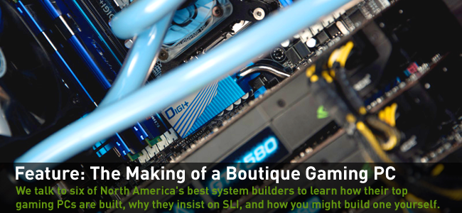 the making of a boutique gaming pc geforce. Black Bedroom Furniture Sets. Home Design Ideas