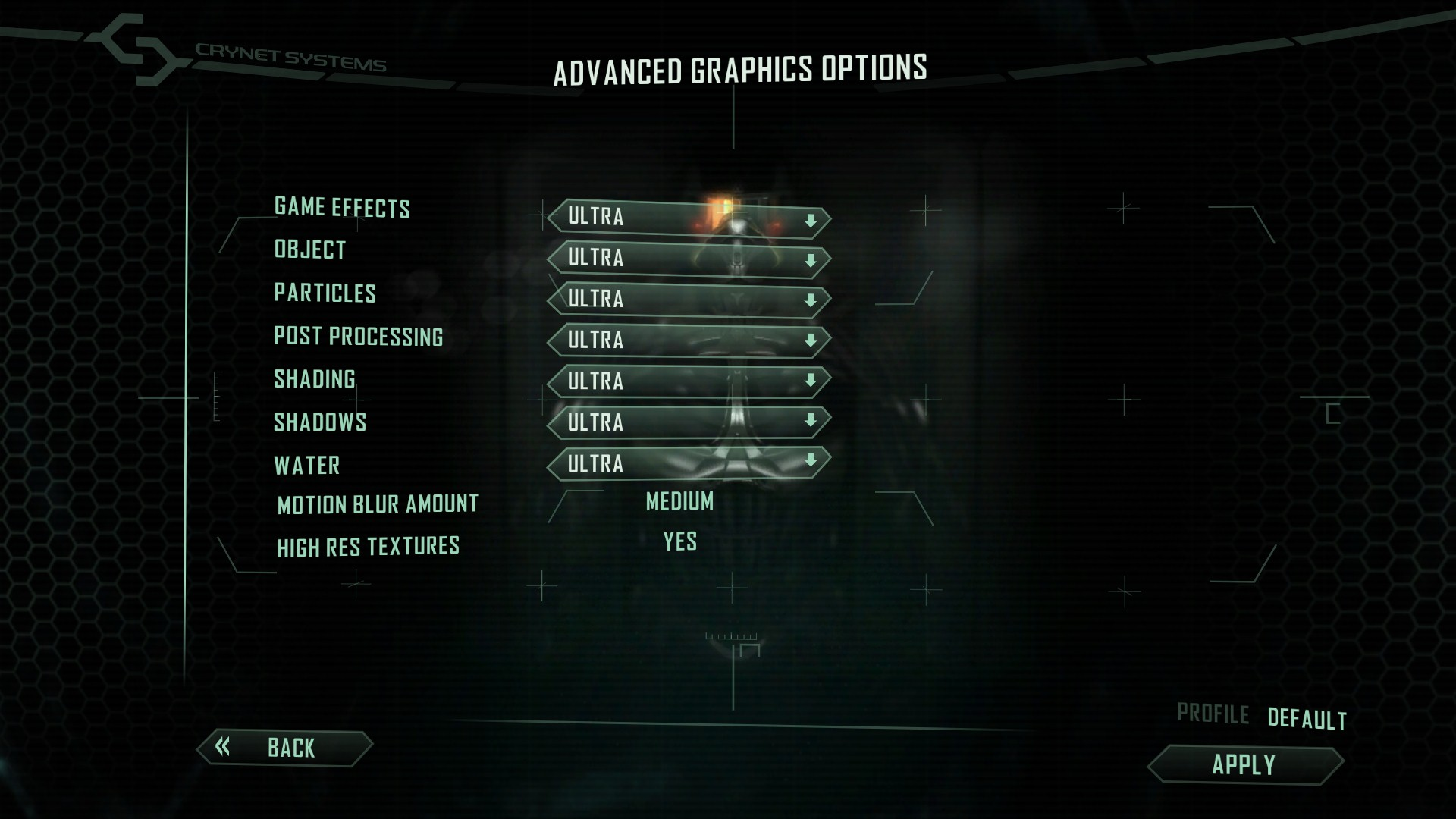 Crysis 2 advanced graphics options application 1.7 download