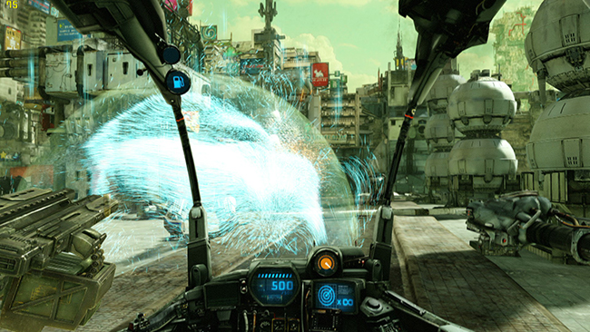 Hawken Physx - Shield