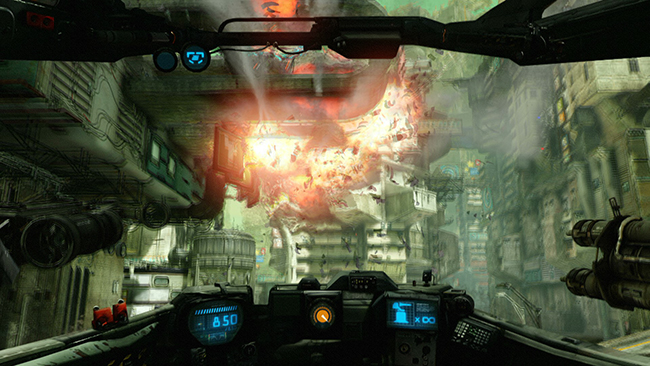 Hawken Physx - Weapon Impacts