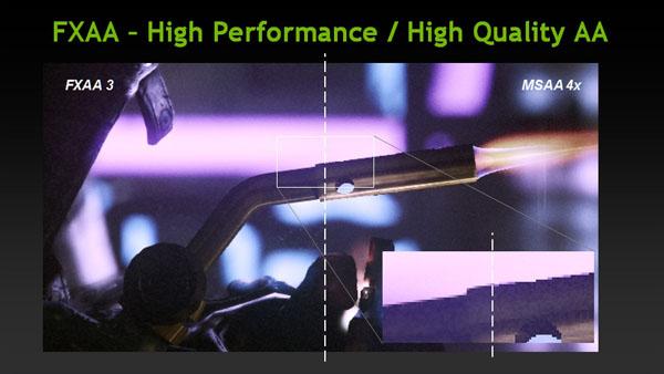 FXAA - High Performance / High Quality AA