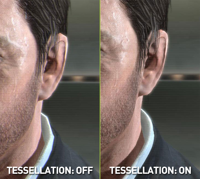 Max Payne 3 PC Tessellation