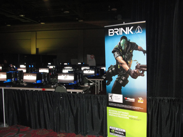 Brink LAN area at QuakeCon 2011