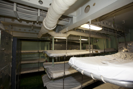USS Hornet Barracks