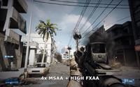 4x MSAA & High FXAA