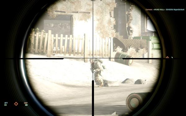 子彈只是輕輕掠過,如果沒有ping遲滯,那應該可以打爆敵人的頭。