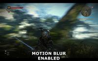 Motion Blur On