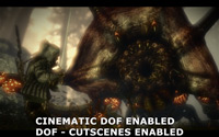 Cinematic Depth of Field Enabled - Depth of Field Custcene Enabled