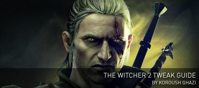 巫師2(The Witcher 2)》調整指南,作者為Koroush Ghazi