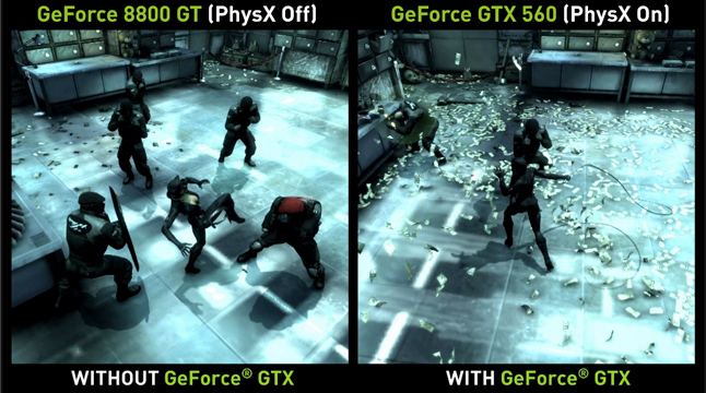 NVIDIA GeForce GTX PhysX PC Trailer