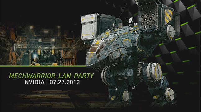 MechWarrior Online LAN Party