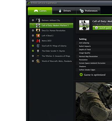 NVIDIA GeForce Experience 3.20.5.70 full